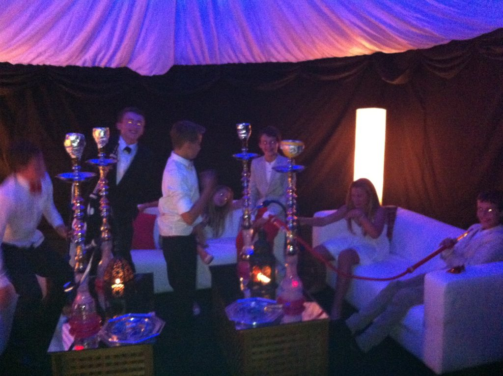 Luxury Shisha Pipe Hire Kent Event Packages - Birthdays, Weddings, Corporate Events and House Parties