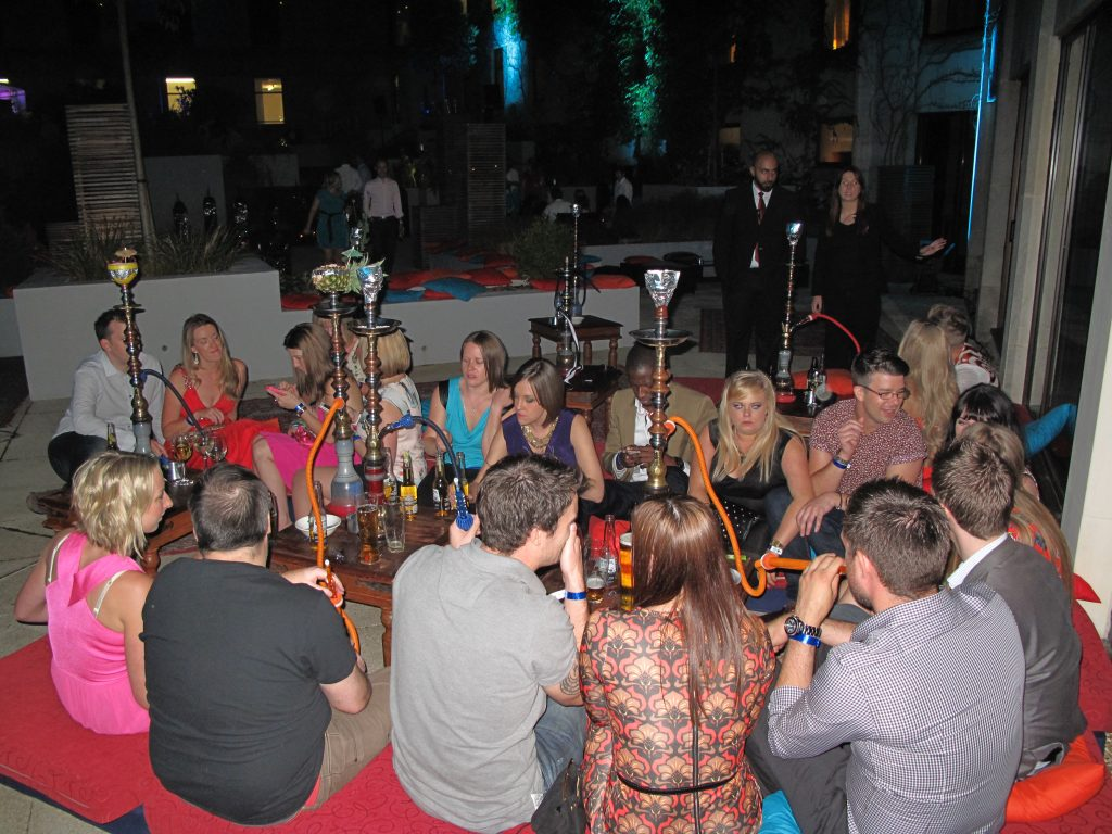 shisha hire Bournemouth, UK